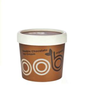 OOB Organic Double Chocolate Ice Cream 120ml