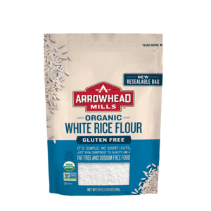 All Natural Arrowhead Mills Organic White Rice Flour Gluten Free 680 gram