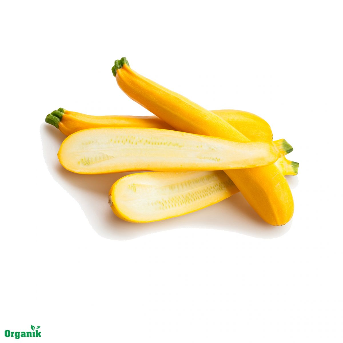 Zucchini Yellow Organic +-250gram/pack